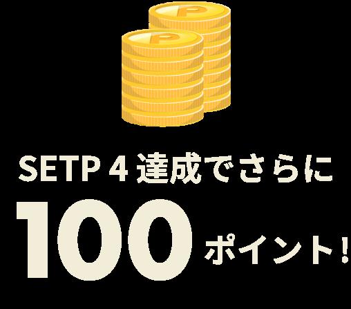 100ポイント